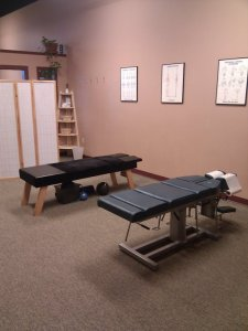 Patient Care Area at Rosser Chiropractic