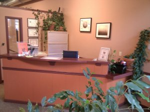 Reception Area at Rosser Chiropractic