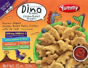 Yummy Dino Buddies Chicken Nuggets