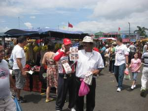 Vender chances feria Costa Rica