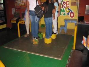 Earthquake, Children's Museum, Costa Rica