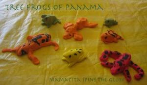 Tree Frogs of Panama - Mamacita Spins the Globe
