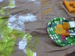 Painting with Your Toddler - Alldonemonkey.com
