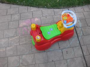 End of Summer Fun with Chalk - Alldonemonkey.com