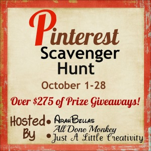 Pinterest Scavenger Hunt 2012 Button