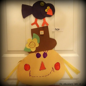 Educators Spin on It - Scarecrow Roundup on Alldonemonkey.com