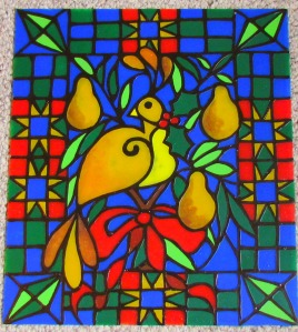 Faux Stained Glass Kit - Suzy's Sitcom Store - Pinterest Scavenger Hunt Alldonemonkey.com