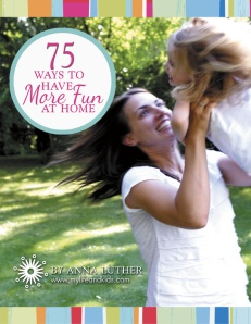 75 Ways to Have More Fun at Home - Book review at alldonemonkey.com