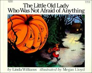 Little Old Lady Who Was Not Afraid of Anything - Scarecrow Roundup on Alldonemonkey.com