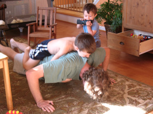 Exercising - Mindful Parenting - Tender Sapling