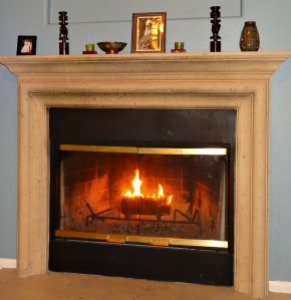 Fireplace - What I Am Grateful For - Alldonemonkey.com