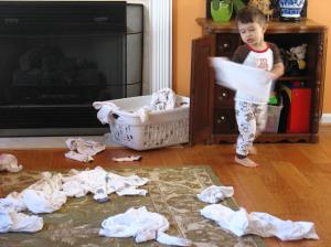 Laundry - Mindful Parenting - Tender Sapling